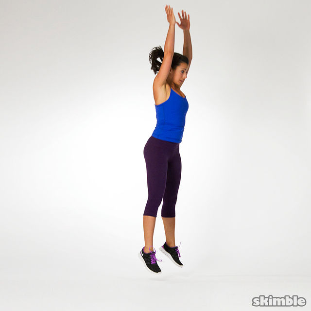 How to do: Burpees - Step 4
