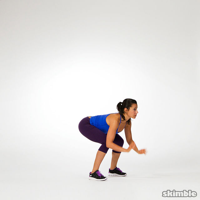 How to do: Burpees - Step 3