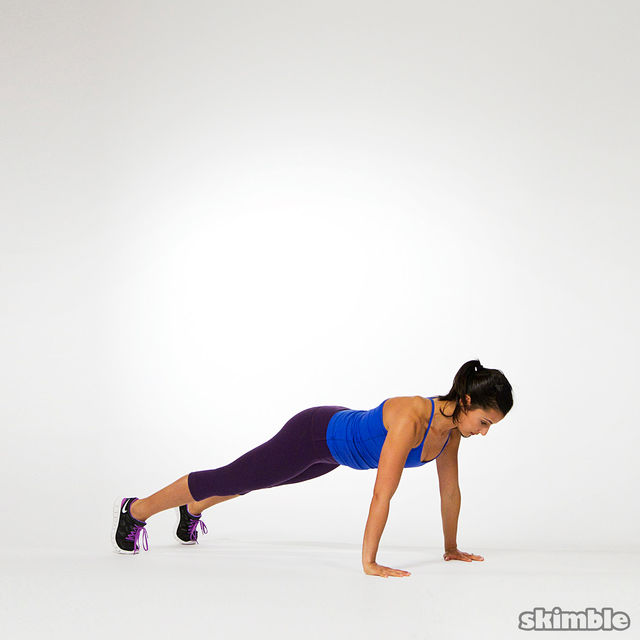 How to do: Burpees - Step 2