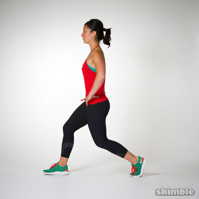 How to do: Split Squats - Step 6