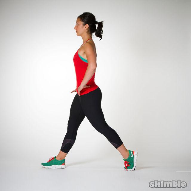 How to do: Split Squats - Step 5