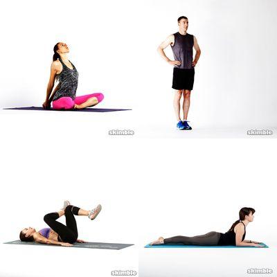 Workout für Verspannungen
