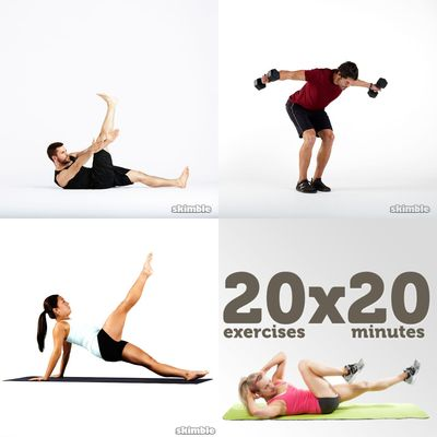 Moderate abs and legs