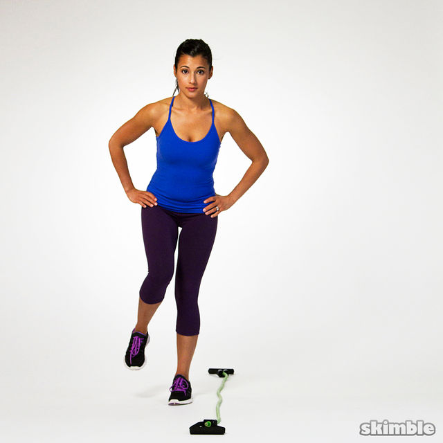 Bosu Ball Side Hops: Side To Side Single Leg Hops