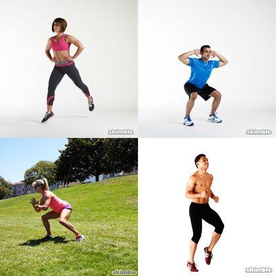 Intense full body workouts