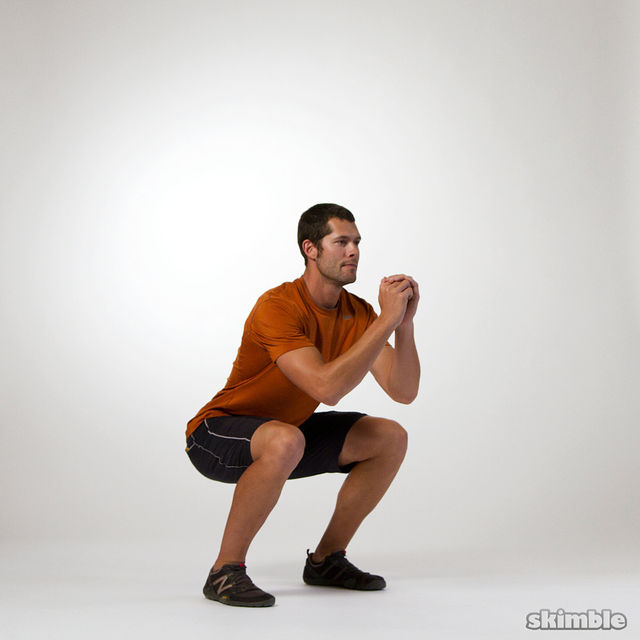 How to do: Squat Pulses - Step 1