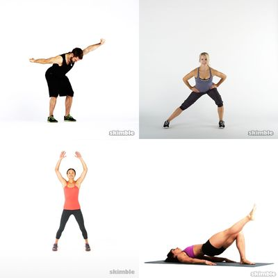 Moderate workouts