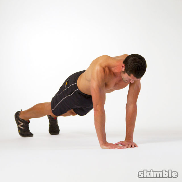 Abs And Upper Body Work Out