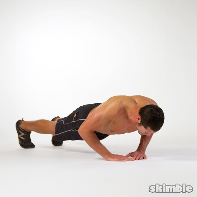 How to do: Diamond Push-Ups - Step 2