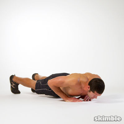 12 Diamond Push Ups