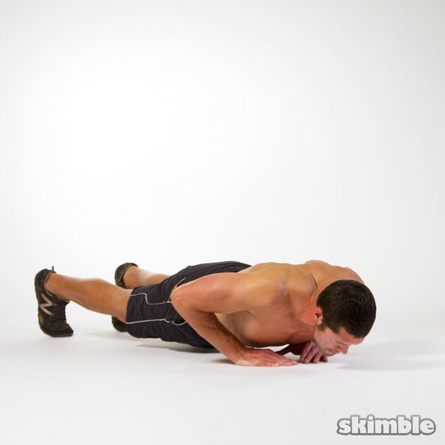 How to do: Diamond Push-Ups - Step 3