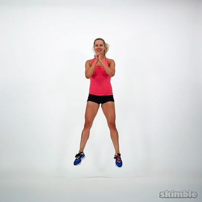 10 Squat Jumps
