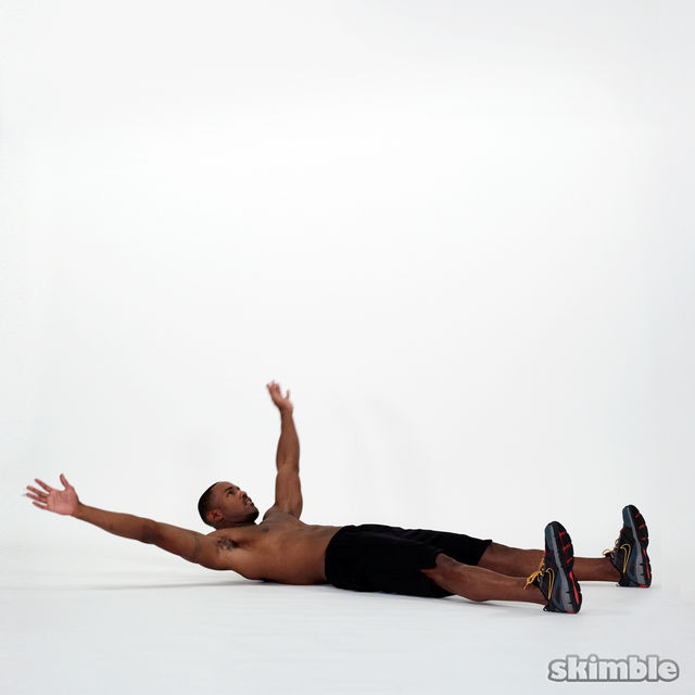 How to do: Wide Leg Sit-Ups - Step 4