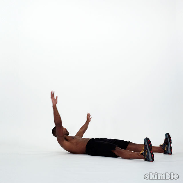 How to do: Wide Leg Sit-Ups - Step 5