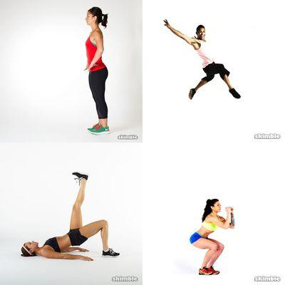tight ass workout
