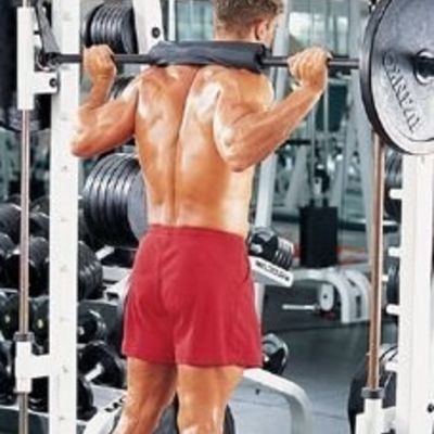 Standing Barbell Calf Raises