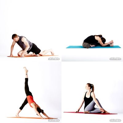 keep calm and stretch