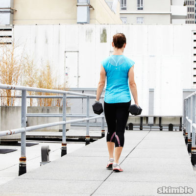 Set Treadmill Incline To 7, Speed 5
