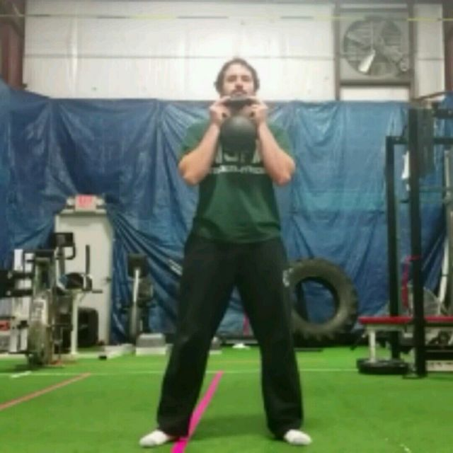 Swing/Goblet Carry Complex