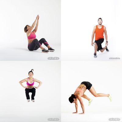 lower body: intense challenge