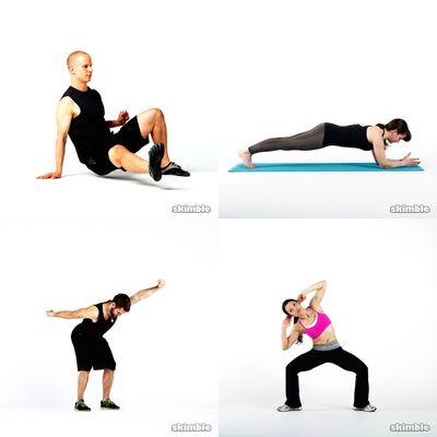 t-th-s Lower body & core