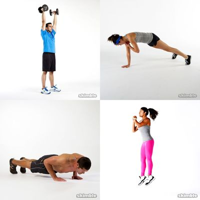 Home  (couple) workout