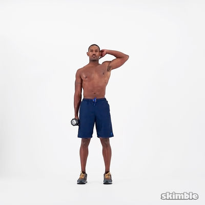 Dumbbell Arms And Core