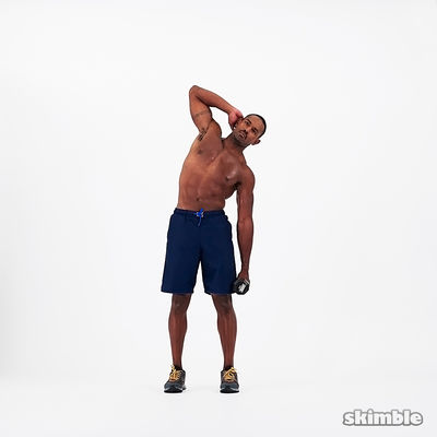 Dumbbell Left Side Bends