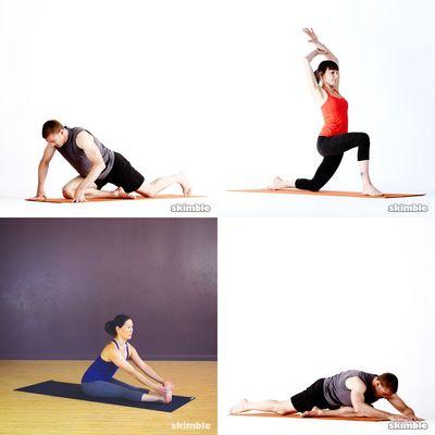 post-workout yoga