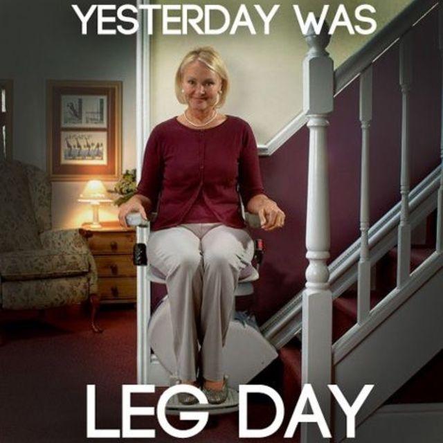 Bye Skinny Legs!
