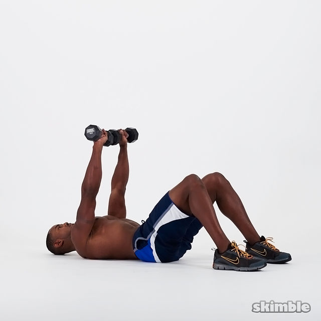 How to do: Dumbbell Chest Press - Step 3