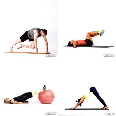 My back training