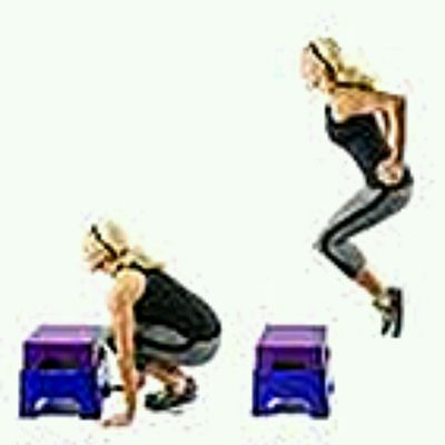 Burpees Box Jump