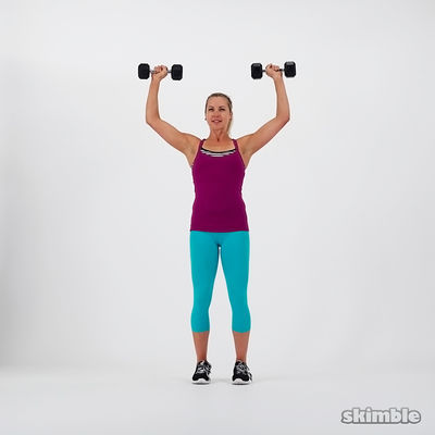 Printable workout: Chest, Shoulders, And Triceps