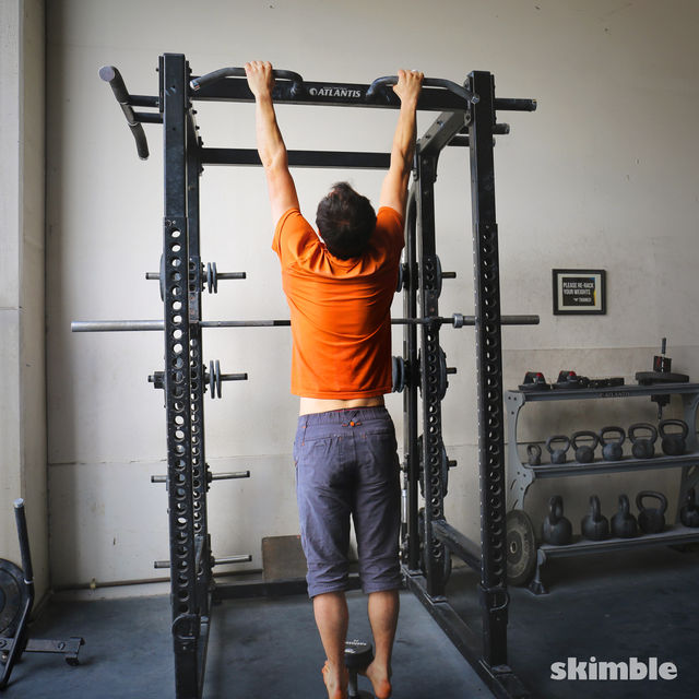 How to do: Weighted Pull-Ups - Step 1