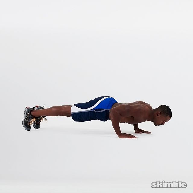 How to do: Shorty Push-Ups - Step 3