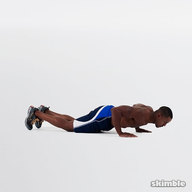 How to do: Shorty Push-Ups - Step 2