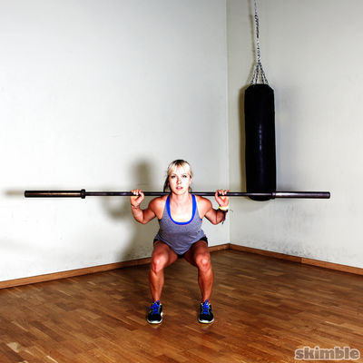 Warm Up Barbell Squats