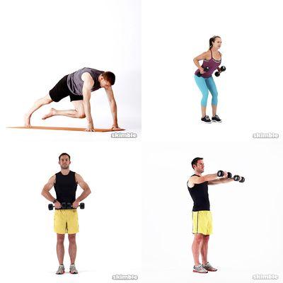 Arms, Shoulders, Back