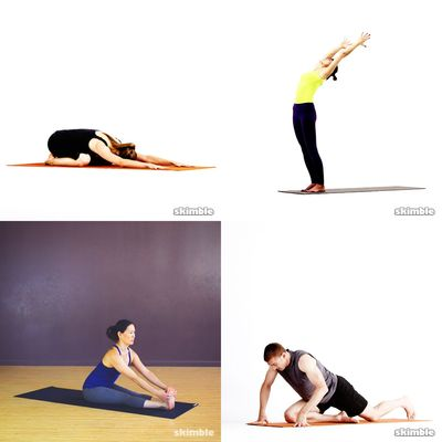 Kurze Yogaeinheit