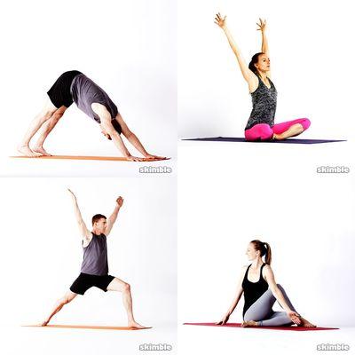 Längere Yogaeinheit