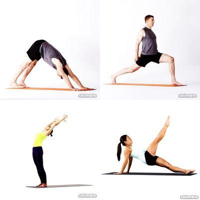 yoga stretchs