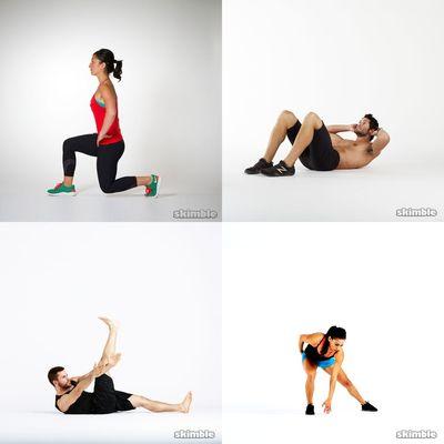 Dance line workout