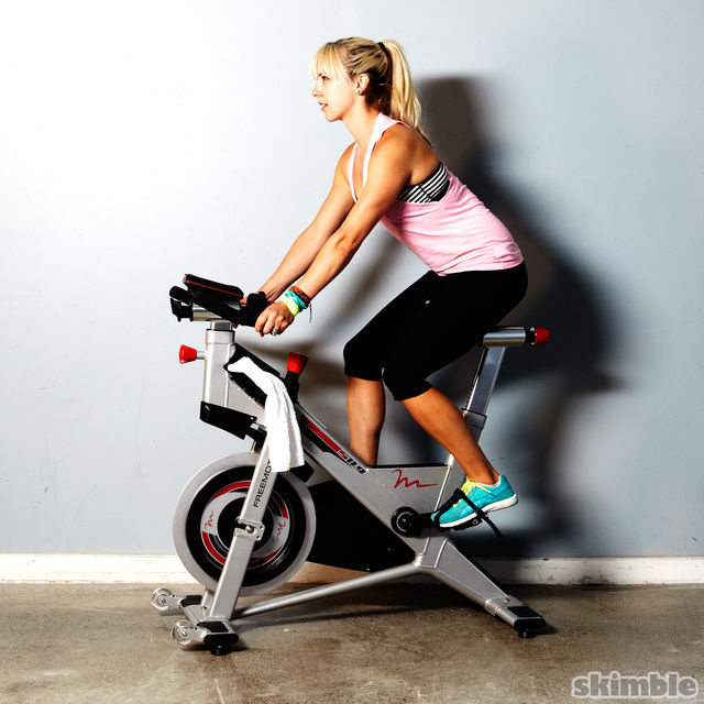 How to do: Moderate Cycling - Step 6