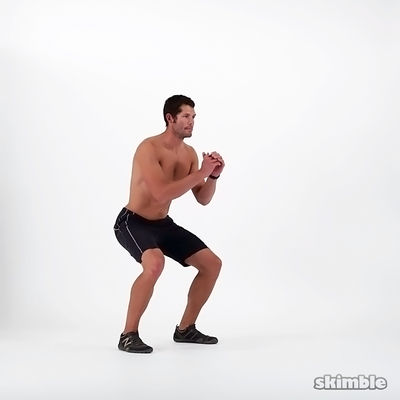 10 Bottom to Bottom Squats