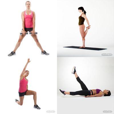 Treadmill Strech