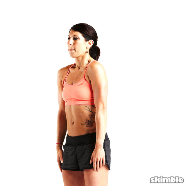 How to do: Forward Shoulder Rolls - Step 6