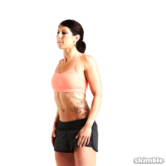 How to do: Forward Shoulder Rolls - Step 4