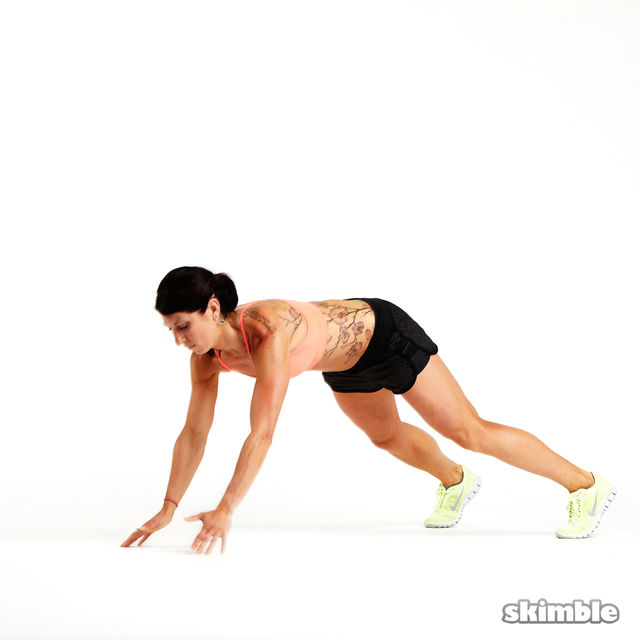 How to do: Clapping Push-Ups - Step 1