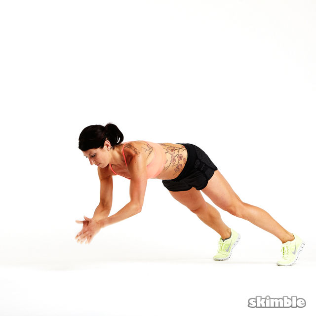 How to do: Clapping Push-Ups - Step 2